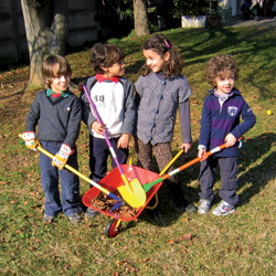 Attrezzi da giardinaggio per bambini