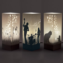 Lampade in carta W-Lamp