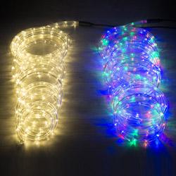 Tubo luminoso con led per esterno