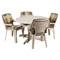 Telo di copertura per sedie e tavolo tondo