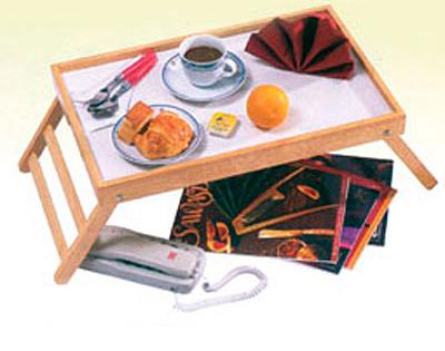 Vassoio colazione a letto in legno dormire bene dmail - Vassoio colazione letto ...