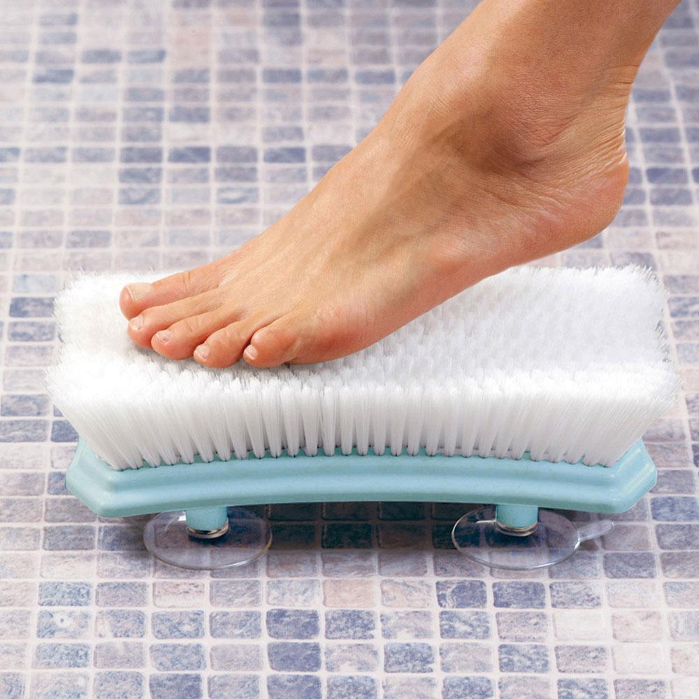 Spugna lavaschiena e piedi da doccia con ventose - Idee ...