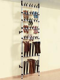 Idee per tenere in ordine le scarpe sfruttando gli spazi - Portascarpe a parete ...