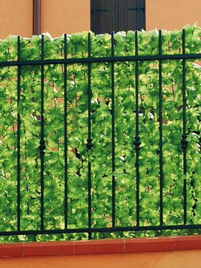 Telo siepe edera sintetica soluzioni utili dmail for Edera artificiale per balconi
