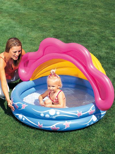 Piscina per bambini con copertura accessori viaggi dmail - Hotel con piscina riscaldata per bambini ...