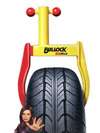 Bullock® Big Block: Antifurto ''blocca ruote''