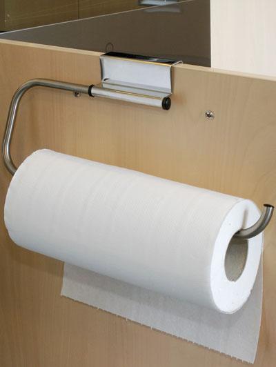 Porta rotolo di carta casa da sportello utensili for Portarotolo ikea