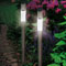 Set di 2 lampioncini tubolari