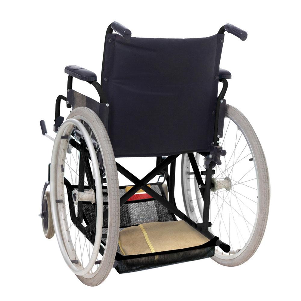 Porta tutto per sedia a rotelle ausili anziani dmail for Sedia a rotelle per gatti