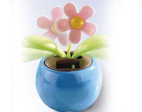 Il fiore ad energia solare