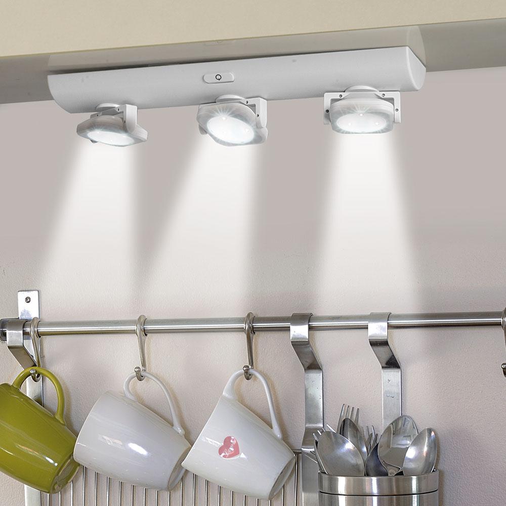 Punto luce a 3 faretti 9 led fino al 30 dmail - Punti luce in casa ...
