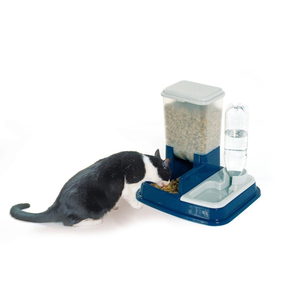 Distributore automatico di acqua e cibo per gatti e cani - Ciotole,distributori E Co - Dmail