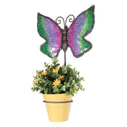 Portavasi-farfalla da muro