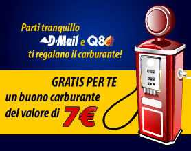 Buono Carburante Q8 da 7 