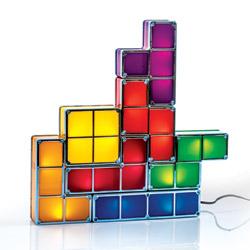 Lampada Tetris componibile ad induzione