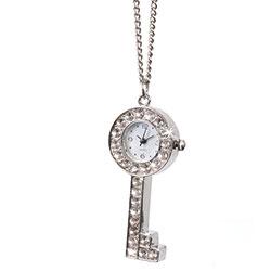 Collana con orologio