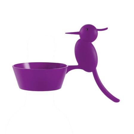 Salvagoccia Woody colore viola