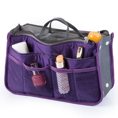 Organizzatore per borsetta viola