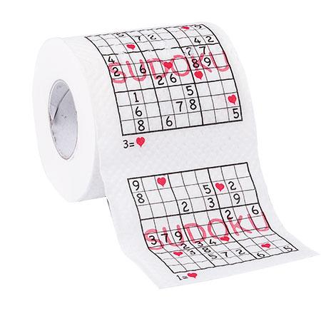 Carta igienica Sudoku