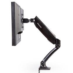 Braccio porta monitor con ammortizzatore a gas