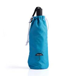 Borsetta porta ombrello assorbi acqua azzurra