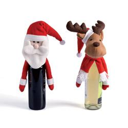 Set 2 decora bottiglia