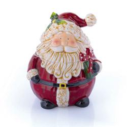 Biscottiera Babbo Natale piccolo