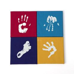 Kit impronte per bambini