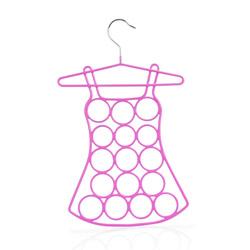 Gruccia per foulard a forma di vestito