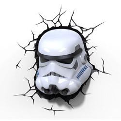 Lampada da parete Stormtrooper Star Wars