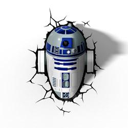 Lampada da parete Star Wars R2-D2