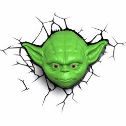 Lampada da parete Star Wars Yoda