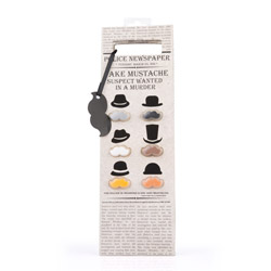 Sacchetto portavino con segnabicchieri a forma di baffi