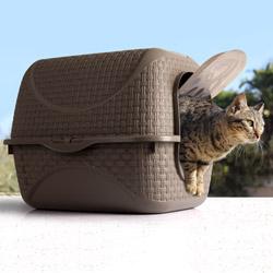 Lettiera chiusa per gatti