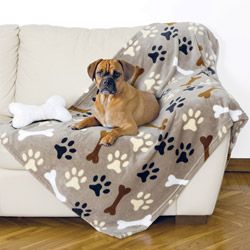 Coperta in pile per cane