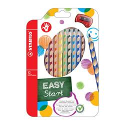 STABILO EASYcolors per destrorsi astuccio 12 matite